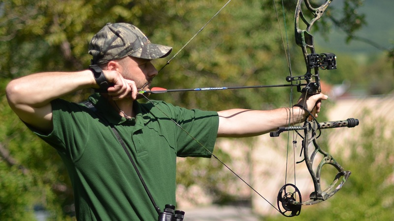 How to sight in a compound bow Featured Post Article